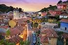 Ribadesella, village on the Asturian coast