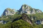 Trekking on the Forato Mountain