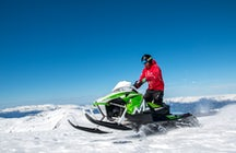 Snowmobile Riksgransen