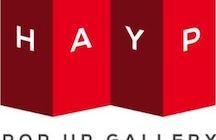 HAYP pop-up gallery