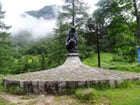 Dr. Julius Kugy Monument, Slovenia