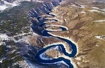 Uvac river