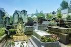 The Montmartre cemetery, Paris