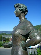 Svarta Bjørn statue in Narvik