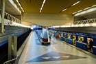 Uruchcha metro station in Minsk