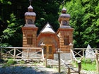 Russian Chapel on the Vršič Pass