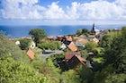 Tunø village
