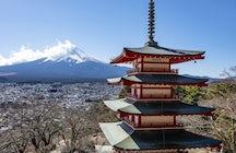 Chureito Pagoda, Yamanashi