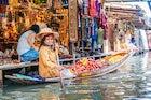 Damnoen Saduak floating market, Ratchaburi