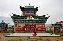 The Ivolginsky Datsan, near Ulan-Ude