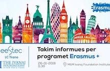 Erasmus + Info sessions