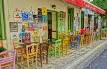 Gazi, the clubbing area