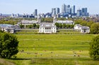 See London from Greenwich Observatory