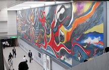 'Myth of Tomorrow' mural, Shibuya station