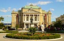 Croatian National Theatre Ivan pl. Zajc