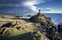 The lighthouse on Llanddwyn Island