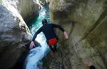 Hrčavka River Canyon