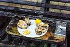 """The restaurant """"Coté Mer"""""""