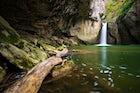 Momin Skok waterfall in Emen canyon
