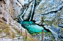 Savica Waterfall, Slovenia