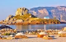 Agios Stefanos beach in Kos