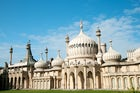 The Royal Pavilion in Brighton, its domes and minarets