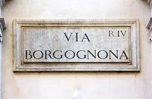 Via Borgognona Roma
