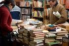 The Libro ritrovato market, Torino