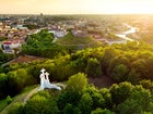 The Hill of Three Crosses, Vilnius