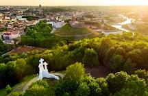 The Hill of Three Crosses, Vilnius