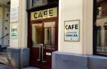Café Hawelka in Vienna