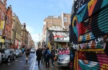 Graffiti Tour in Brick Lane, London