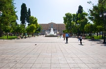 Syntagma Square and its Parliament