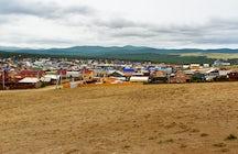 Khuzhir Village, Siberia