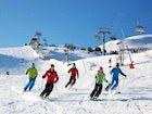 Chamois 2500 Ski school