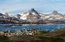 Visiting Tasiilaq in Greenland