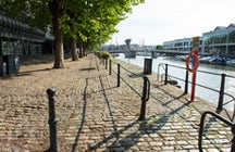 Enjoy a walk along the Bristol quayside