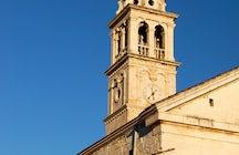 Saint Cyprian church Pučišća
