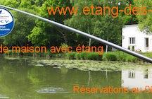 Étang des claies - Location maison gîte de pêche