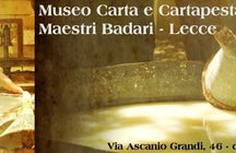 Carta e cartapesta museo maestri Baldari Lecce