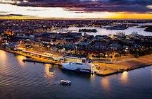 Katajanokka Harbor, Helsinki