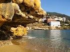 Edipsos natural springs in Evoia