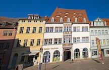 Naumburg's old town