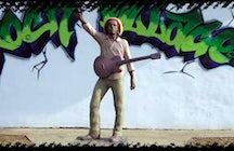 Bob Marley Statue in Banatski Sokolac