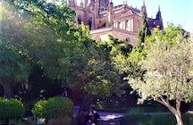 The gardens of Calixto and Melibea