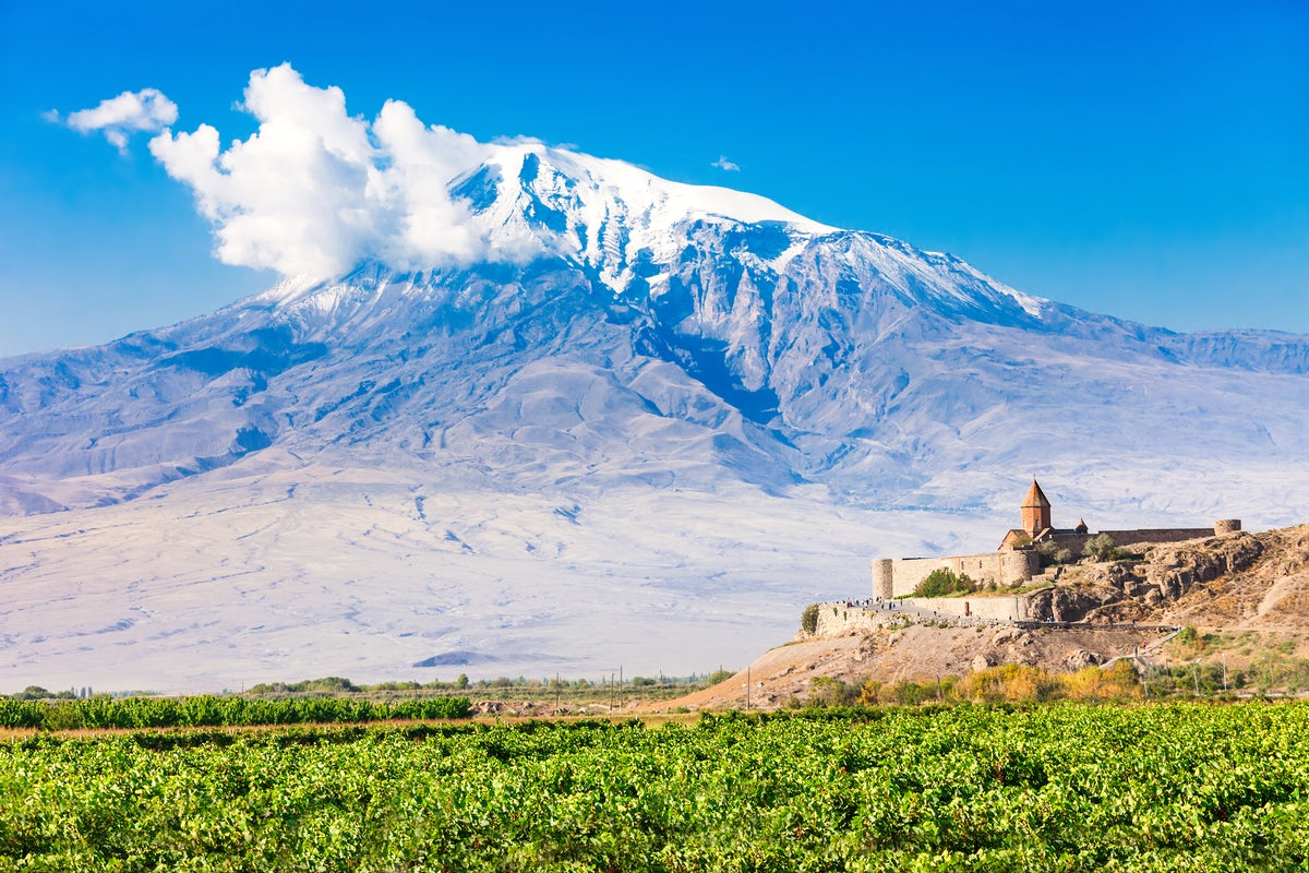 Beautiful towns and villages in Armenia