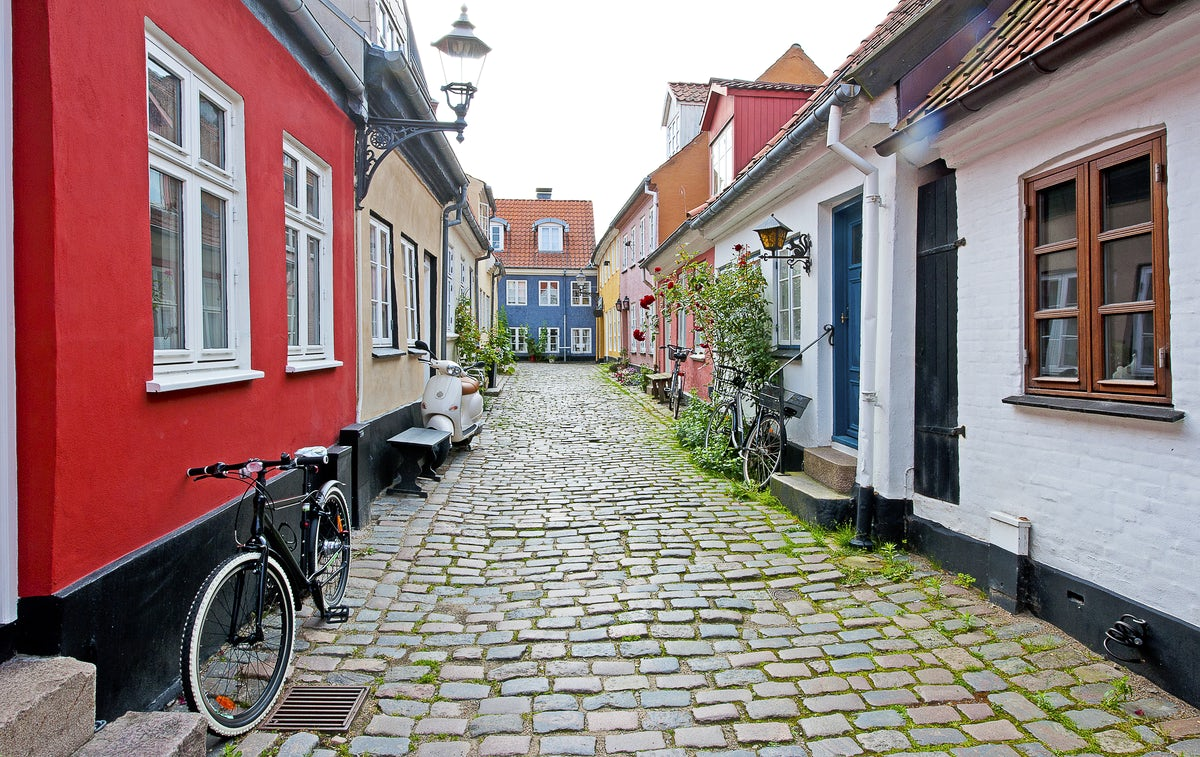 Beautiful towns and villages in Denmark