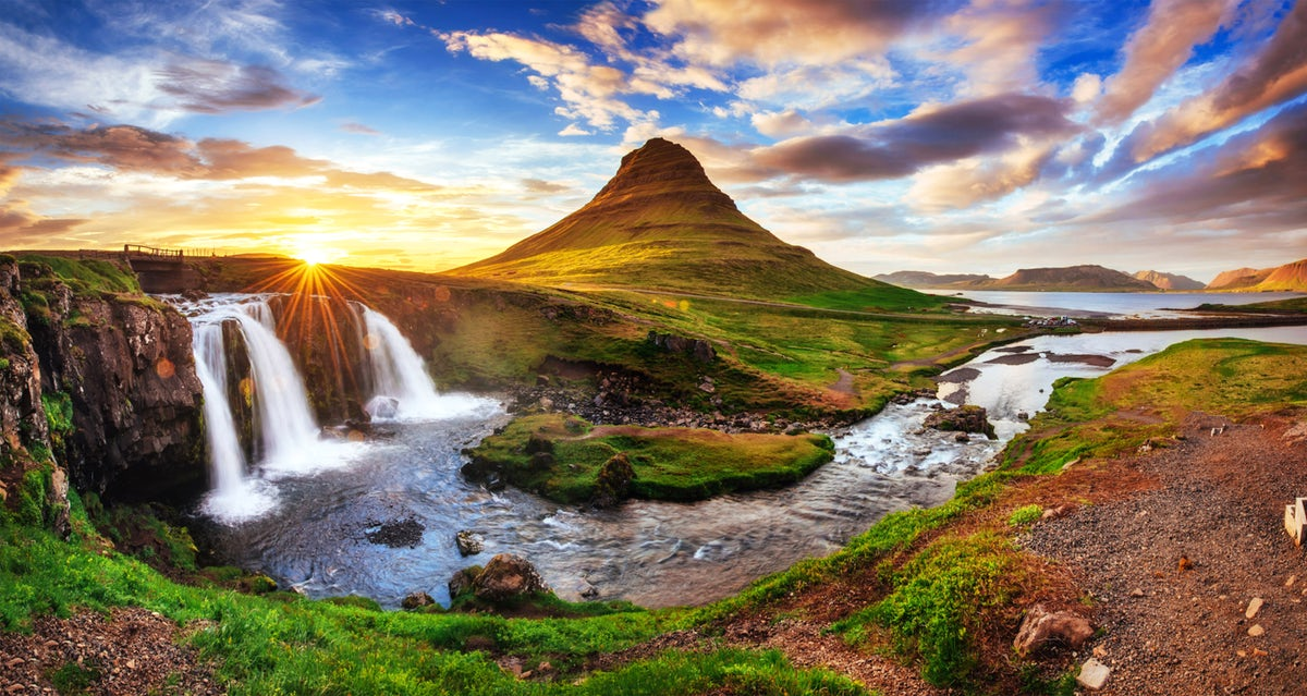 Beautiful towns and villages in Iceland