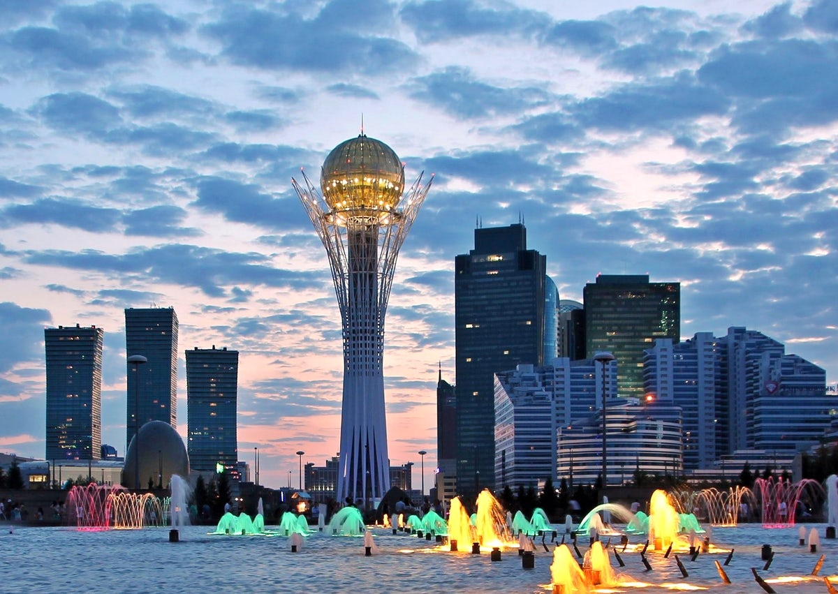 The most amazing cities in Kazakhstan
