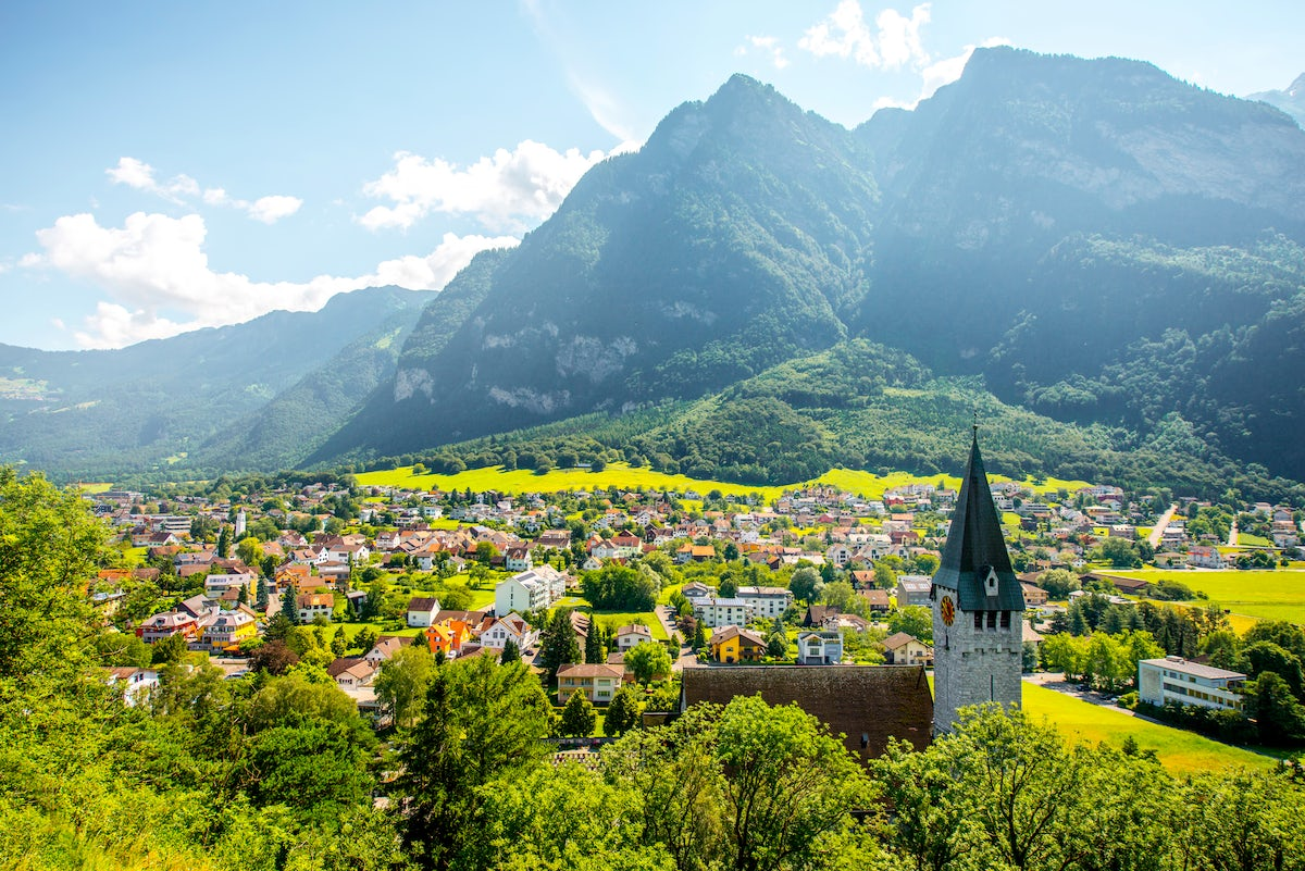The best relaxing spots in Liechtenstein
